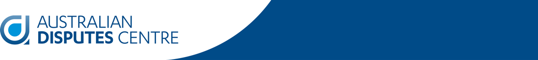 Australian Disputes Centre